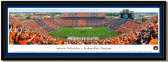 Auburn Tigers Stripe Jordan Hare Stadium Framed Picture with matting