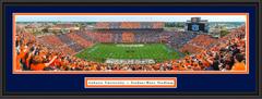 Auburn Tigers Stripe Jordan Hare Stadium Framed Picture