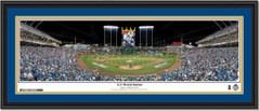 Kansas City Royals 2015 World Series Framed Print with double matting
