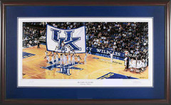 Kentucky Basketball Return to Glory Framed Print