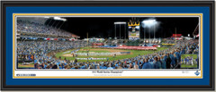 Royals Game 1 and 5 2015 World Series Championship Framed Print with matting