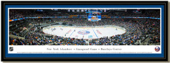 New York Islanders Barclays Center Framed Hockey Poster with matting