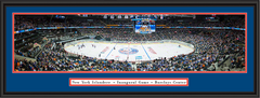 New York Islanders Barclays Center Framed Hockey Poster