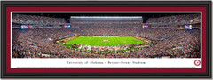 Alabama Bryant Denny Stadium Panoramic Framed Print
