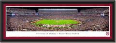 Alabama Bryant Denny Stadium Panoramic Framed Print