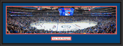 New York Rangers Season Opener NHL Arena Framed Print