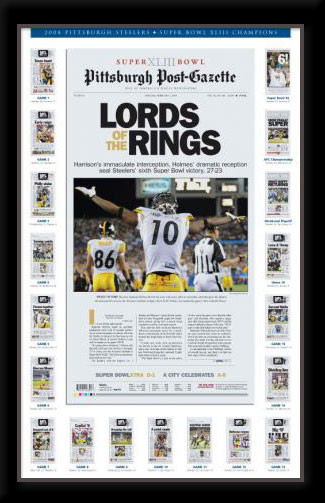 Steelers Lord of the Rings Newspaper Headlines