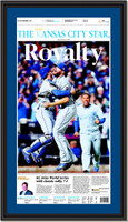 Kansas City Star Royalty Headlines Framed Print