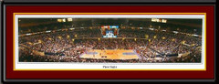 Cleveland Cavaliers First Game Quicken Loan Arena Framed Picture matted and framed