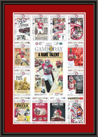 Alabama 2015 Season Newspaper Headlines Framed Poster