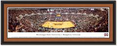 Mississippi State Basketball Humphrey Coliseum Framed Print