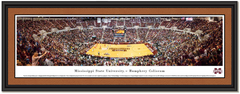 Mississippi State Basketball Humphrey Coliseum Framed Print