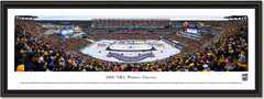 2016 NHL Winter Classic Gillette Stadium Framed Picture