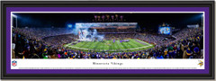 Minnesota Vikings Final Game TCF Stadium Framed Poster