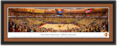 Iowa State Cyclones Basketball Hilton Coliseum Framed Poster