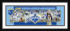 Kansas City Royals 2015 Photoramic Framed Photo Collage