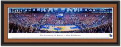 Kansas Allen Fieldhouse vs Kentucky Basketball Framed Poster matted