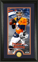 Peyton Manning Broncos Career Supreme Bronze Coin Photo Mint