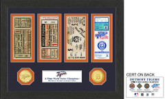 Detroit Tigers World Series Ticket Collection
