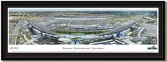 Daytona 500 Framed NASCAR poster matted