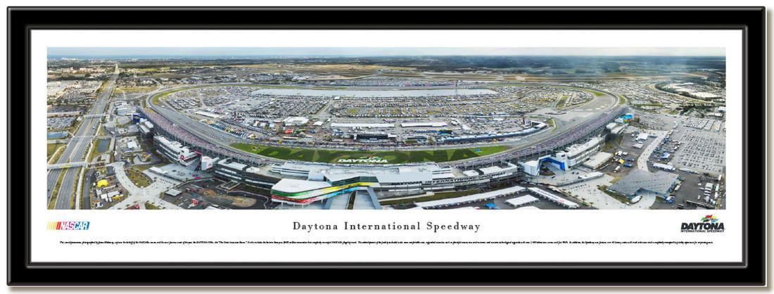 Daytona 500 Framed Nascar Poster