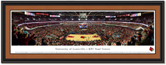 Louisville Cardinals KFC Yum! Center Throwback Game Framed Print