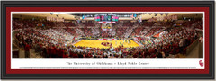 Oklahoma Basketball Lloyd Noble Center Framed Picture
