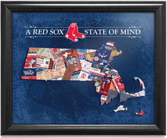Boston Red Sox State of Mind Framed Print