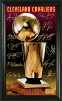 "Cleveland Cavaliers 2016 NBA Finals Champions ""Trophy"" Signature Photo"