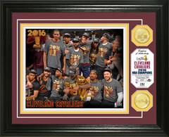Cleveland Cavaliers 2016 NBA Finals Champions Bronze Coin Photo Mint