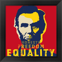 Honest Abe Framed Poster