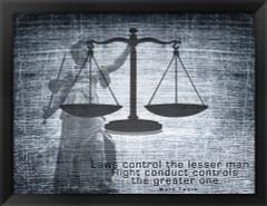 Justice Law - Mark Twain