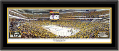 Pittsburgh Penguins 2016 Stanley Cup Champions Panoramic Framed Print