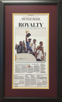 "Cleveland Cavaliers 2016 ""Royalty"" Championship Headline Framed Print"