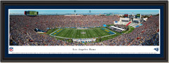 Los Angeles Rams Framed Panoramic Print - Los Angeles Memorial Coliseum