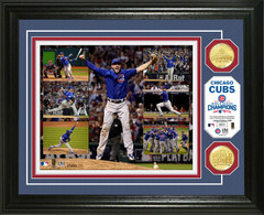 "Chicago Cubs 2016 World Series Champions ""Key Moments"" Bronze Coin Photo Mint"