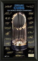 Chicago Cubs 2016 World Series Champions Signature Trophy