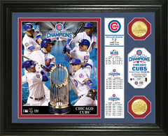 "Chicago Cubs 2016 World Series Champions ""Banner"" Bronze Coin Photo Mint"