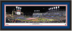 Cleveland Indians 2016 World Series Opening Ceremonies Framed Print Double matted