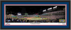 Chicago Cubs 2016 World Series Champion Framed Print with Photo Inserts Double Mat