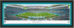 Miami Dolphins Hard Rock Stadium Panoramic Framed Print