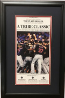 "Cleveland Indians 2016 ""A Tribe Classic"" ALCS Headline Framed Print"
