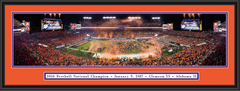 Clemson 2016 CFP National Championship Framed Picture