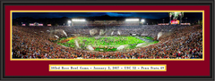 USC 2017 Rose Bowl Panoramic Framed Print