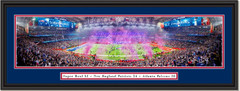 New England Patriots Super Bowl LI 2017 Panoramic Print