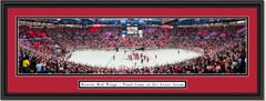 Detroit Red Wings - Final Game at Joe Louis Arena - Framed Print
