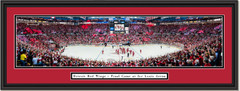 Detroit Red Wings - Final Game at Joe Louis Arena - Framed Print