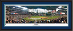 Seattle Mariners Opening Night at Safeco Field Framed Panoramic