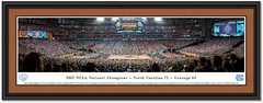 North Carolina 2017 NCAA Championship Basketball Panoramic Picture