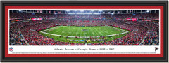 Atlanta Falcons Last Regular Season Game at Georgia Dome Panoramic Framed Picture